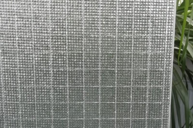 Drahtornamentglas 597 weiß